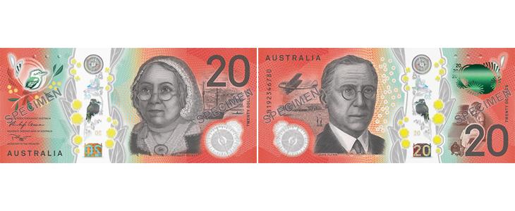 2019年度20オーストラリアドル
