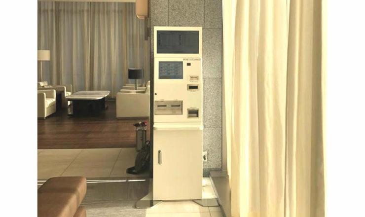 ホテルJALシティ札幌中島公園_両替機設置画像